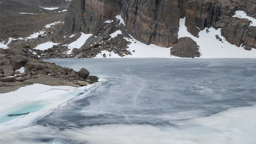 ChasmLake-ice